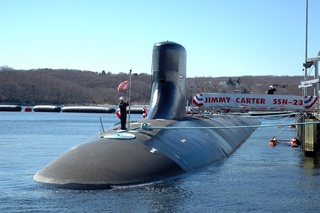 USS Jimmy Carter deployed in 2001.<br/>Tapping undersea cables to intercept communications of foreign countries.