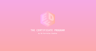 "<a href=""https://www.edfornielesstudios.com/index.html"" target=""_blank"">THE CERTIFICATE PROGRAM by Ed Fornieles Studios</a>"